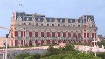 Biarritz in Francia si prepara al G7