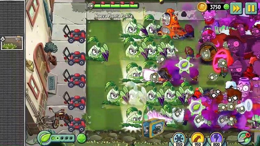 Plants Vs Zombies 2 La Habilidad Pokra La Nueva Planta