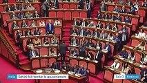 L'Italie n'a plus de gouvernement