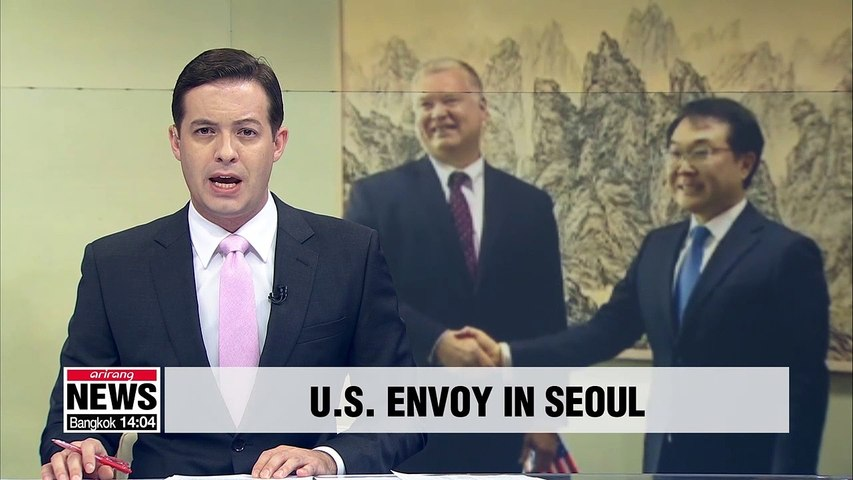 U.S. nuclear envoy to discuss N. Korea nuclear talks, missile launches with S. Korean officials