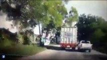 ชาวเน็ตสะใจ !! กระบะหัวร้อน ตามบี้รถบรรทุก สุดท้าย.. จ่ายค่าโง่ราคาแพงลิบ