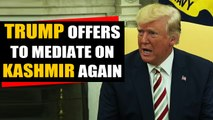 Amid escalating Indo-Pak tensions, Trump offers to mediate again | Oneindia News