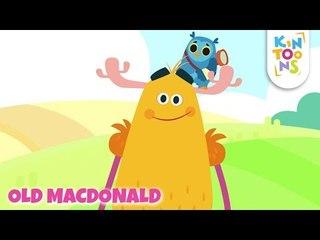 Old MacDonald Had A Farm | Nursery Rhyme With Lyrics | KinToons