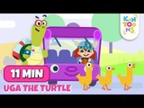 Wheels On The Bus And Lots More Nursery Rhymes With Uga | KinToons