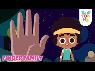 Finger Family - Get To Know The KinToons Gang   Nursery Rhymes & Baby Songs   KinToons