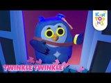 Twinkle Twinkle Little Star Rhymes With Lyrics - Nursery Rhymes & Kids Songs | KinToons