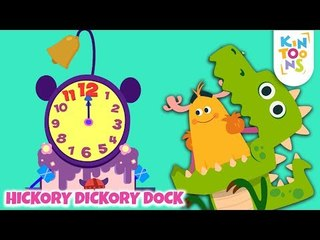 Hickory Dickory Dock   Learn The Number Song   Nursery Rhymes & Baby Songs   KinToons