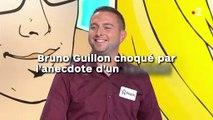 Bruno Guillon choqué par  l'anecdote d'un candidat !