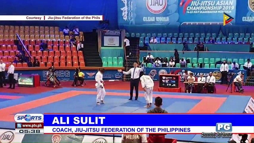 Chongju World Martial Arts tilt, target ng PH jiu-jutsu team