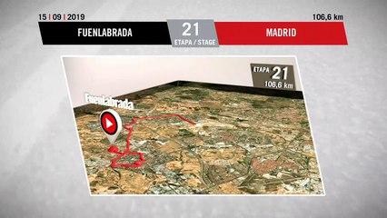 Perfil Etapa 21 - Stage 21 Profile | La Vuelta 19