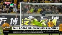 """Manchester United """"condamne catégoriquement"""" les insultes racistes reçues par Paul Pogba sur les réseaux sociaux"""
