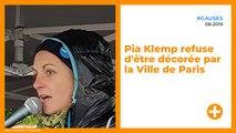 Pia Klemp refuse d'être décorée par la Ville de Paris