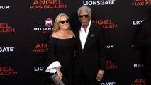 "Morgan Freeman and Lori McCreary ""Angel Has Fallen"" World Premiere"