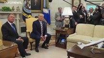 Trump y Macron apoyan la vuelta de Rusia al G-7