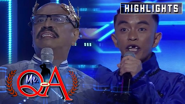 Joseph Jarabe faces reigning Mr Q. and A Toti Sandoval | It's Showtime Mr Q and A