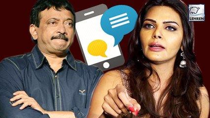 Sherlyn Chopra ACCUSES RGV For Sending Vulgar Texts On WhatsApp