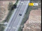 VÍDEO: Le cazan circulando a 150 km/h por una carretera convencional