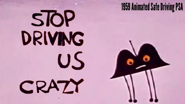 Stop Driving Us Crazy! - 1959 Driver's Education Film