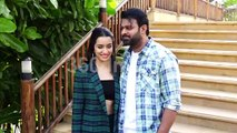 SAAHO Stars Shraddha Kapoor and Prabhas Promote Their Movie