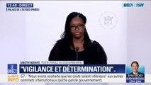 """Sibeth Ndiaye : """"Nous sommes extrêmement vigilants dans l'organisations de ce G7 et nous ne laisserons pas des violences entacher ce sommet"""""""