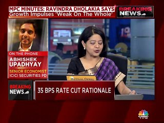 Expect a 15-25 basis points cut in October and a pause after that, says Aditi Nayar of ICRA