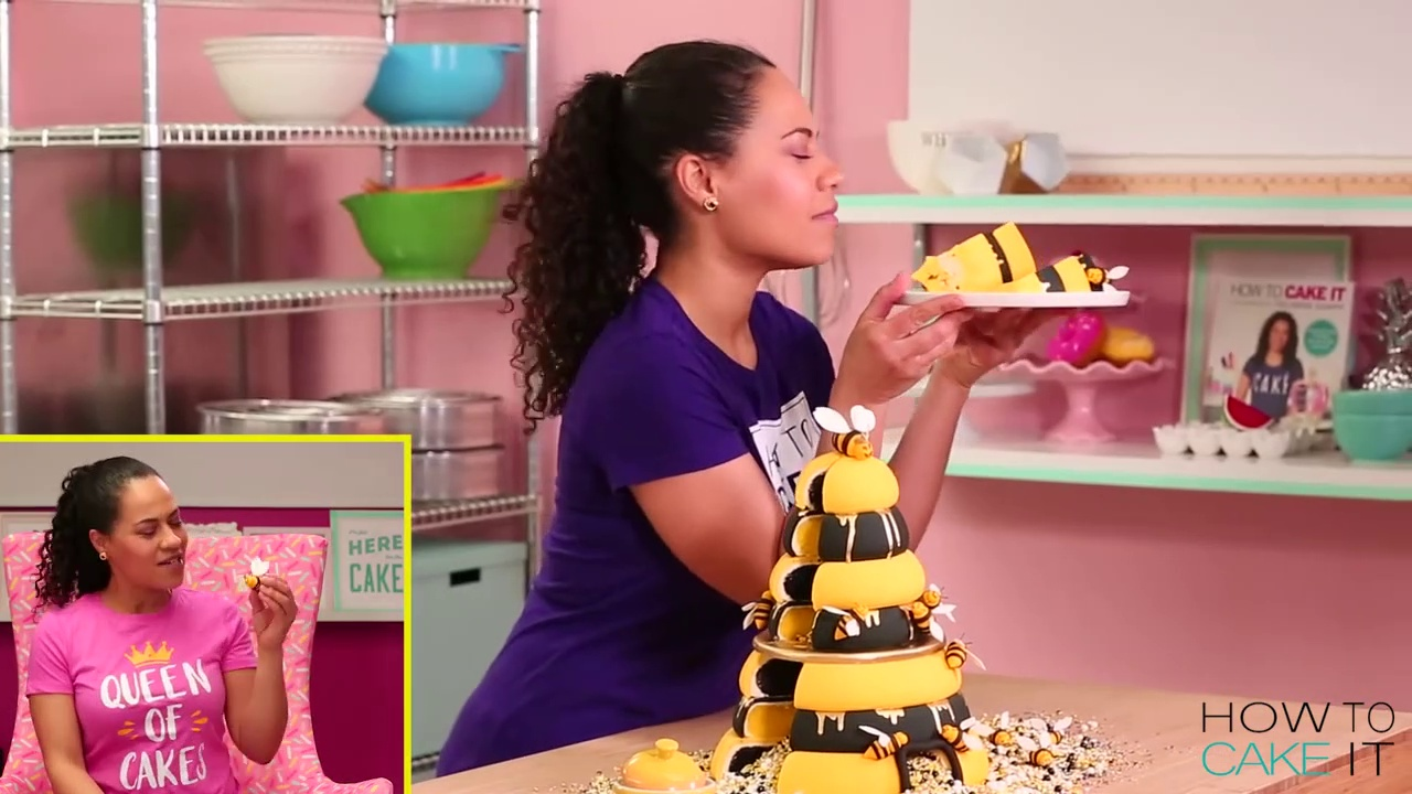 A Beehive Cake for the Beyhive! A Delicious Cake!