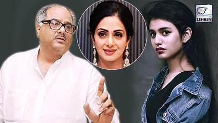 Boney Kapoor's Angry Reaction On Priya Prakash's Sridevi Bungalow