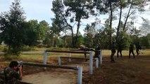 Les basketteurs du MSB préparent leur saison au camp militaire d'Auvours à Champagné