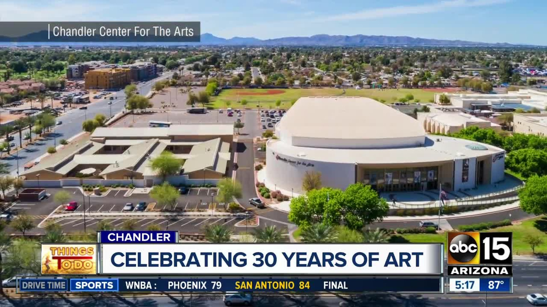 Chandler Center for the Arts is celebrating its 30th anniversary this weekend