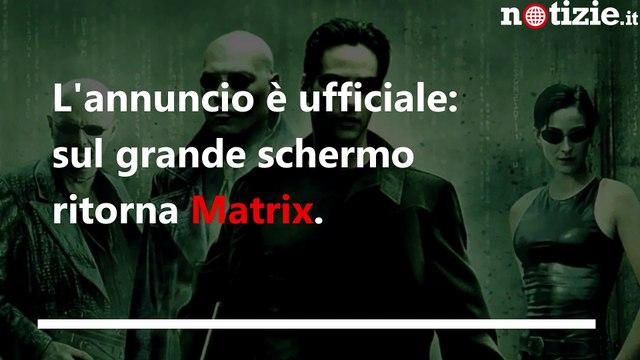 Matrix 4 è ufficiale, ritornano Keanu Reeves e Carrie-Anne Moss   Notizie.it