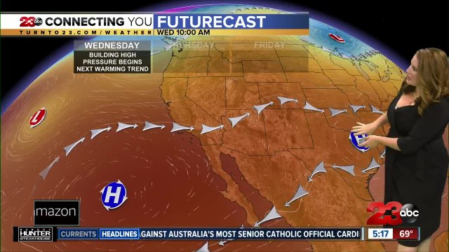 Wednesday morning forecast 8/21/19