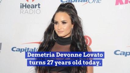 It's Demi Lovato's Birthday