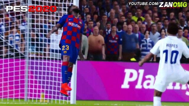 FIFA 20 VS PES 2020 COMPARAÇAO