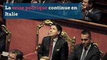 Italie: après la démission du Premier ministre, la crise politique continue