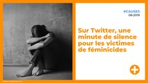 Sur Twitter, une minute de silence pour les victimes de féminicides