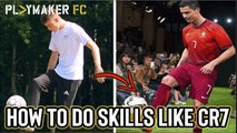 Freestyler | How to do skills like Cristiano Ronaldo