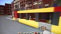 Liège : la ville en Minecraft