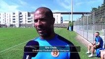 A Une du journal, préparation intense pour le FC Martigues