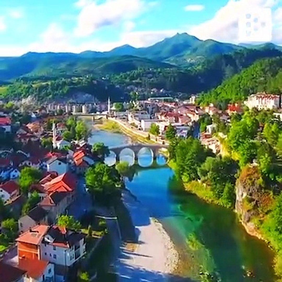 Bosnia Herzegovnia, vista desde un dron