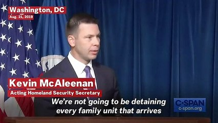 Acting DHS Secretary Says There Is 'No Intent To Hold Families For A Long Period Of Time'
