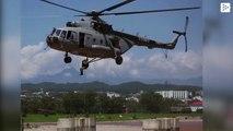 La fuerza aérea india rescata a 4 pescadores atrapados en un río turbulento