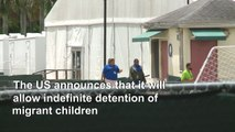 US to allow indefinite detention of migrant children: DHS