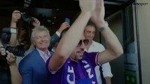 Arrivée en fanfare à la Fiorentina pour Franck Ribéry