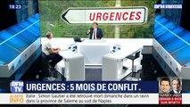 Urgences: Cinq mois de conflit