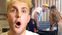 Jake Paul Reacts To Erika Costell Reunion After Tana Mongeau Marriage