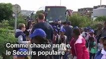 A Deauville, des enfants défavorisés goûtent aux vacances