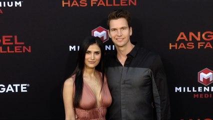"""Ted McGrath and Ana Aurora """"Angel Has Fallen"""" World Premiere"""