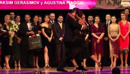 Una argentina y un ruso ganan Mundial de Tango en Buenos Aires