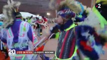 États-Unis : les indiens d'Amérique célèbrent leurs traditions pendant trois jours