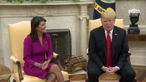 Haley Says 'Enough' Of 'False Rumors,' Pence Has Her 'Complete Support'